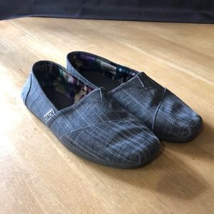 Bobs simple grey shoes size 8